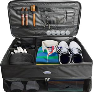Golfer gift, golf trunk organization, golf organizer