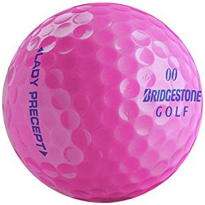 bridgestone lady precept pink golf ball