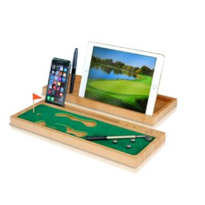 executive desktop golf game, unique golf gift for office