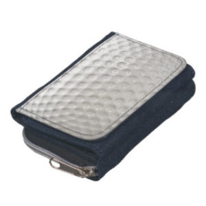 golf ball womens wallet sport purse