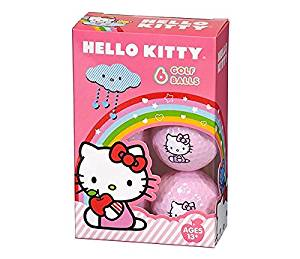 hello kitty pink golf balls