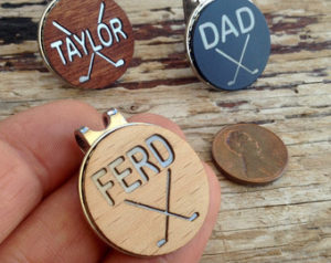 personalized golf ball markers