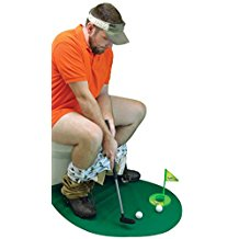 potty putter, funny golf gifts