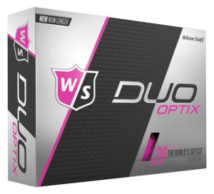 wilson duo womens pink golf balls