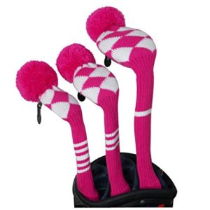 womens knit golf headcovers