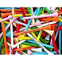 1000 pack personalized golf tees in various colors, custom golf tees