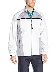 adidas golf rain jacket, golf rain gear, packable golf rain apparel