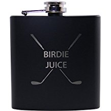 birdie juice golf flask, gifts for golfers who drink, drinking gifts for golfers