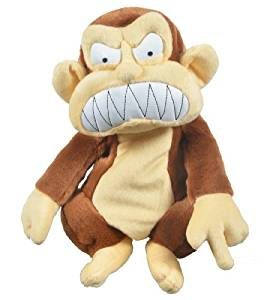 family guy evil monkey golf headcover, family guy golf head covers, evil monkey golf club headcover