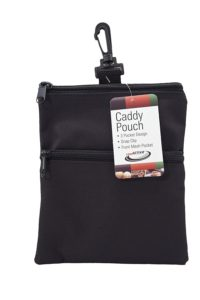 golf accessories pouch, golf tournament gifts, golf outing gift bag ideas