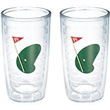 golf tumbler glasses, drinking gift for golfers, golfer drinkware