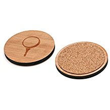 laser cut wooden golf coasters, drinking gifts for golfers, golf bar coasters