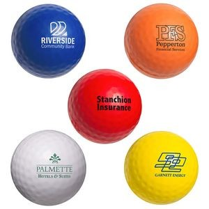 sponsor logo golf tournament gifts, golf stress ball golf outing gift bag ideas