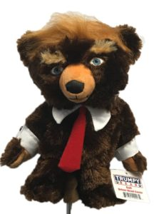 trump bear golf club headcover, trump golf head cover
